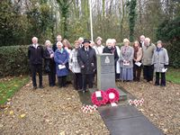 Remembrance Sunday, North Killingholme, November 2011