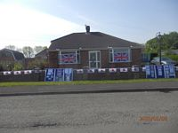 VE Day, North Killingholme, 2020